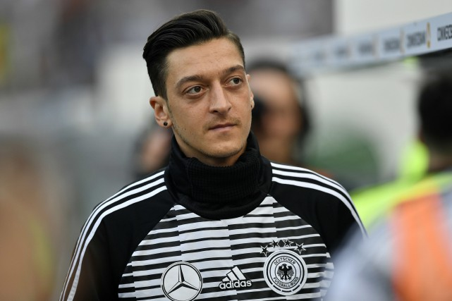 Mesut Özil... (PHOTO MARTIN MEISSNER, ARCHIVES AP)
