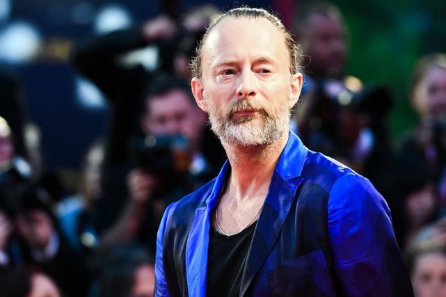 Thom Yorke a présenté la bande originale du... (Photo AFP)