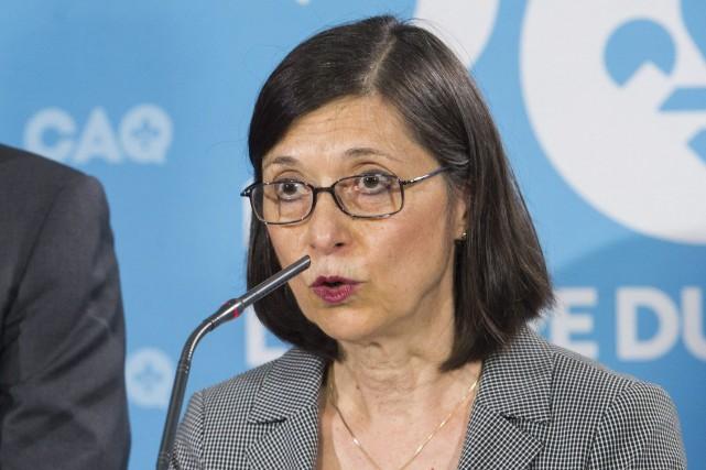La potentielle ministre de la Santé de la... (Photo Graham Hughes, archives PC)
