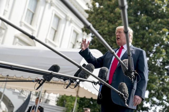 Un «résistant» de l'administration Trump se confie au New York Times