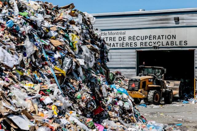 Si la récupération augmente, Montréal n'atteint toujours pas... (Photo Martin Tremblay, Archives La Presse)