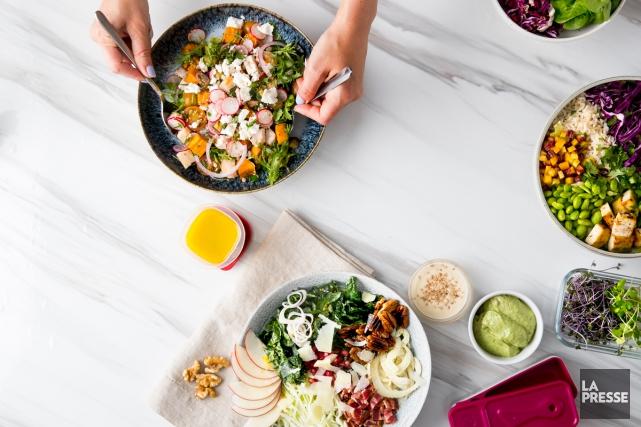 Créer une bonne salade, c'est loin d'être sorcier. La clé pour en concevoir une... (Photo Marco Campanozzi, La Presse)
