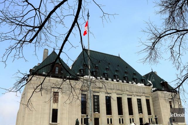Le plus haut tribunal du pays a accepté... (Photo Étienne Ranger, archives Le Droit)