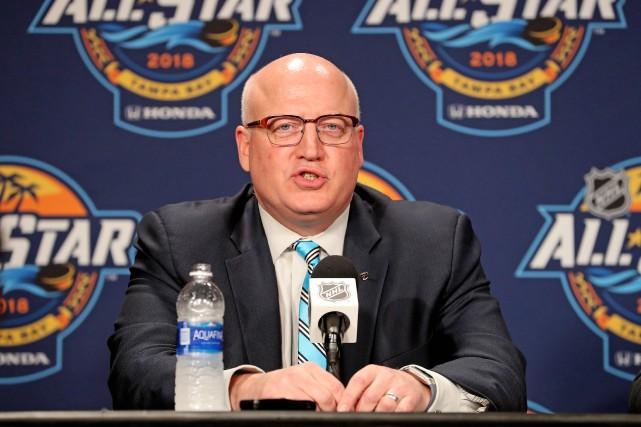 Le commissaire adjoint de la Ligue nationale de... (Photo Kim Klement, archives USA TODAY Sports)