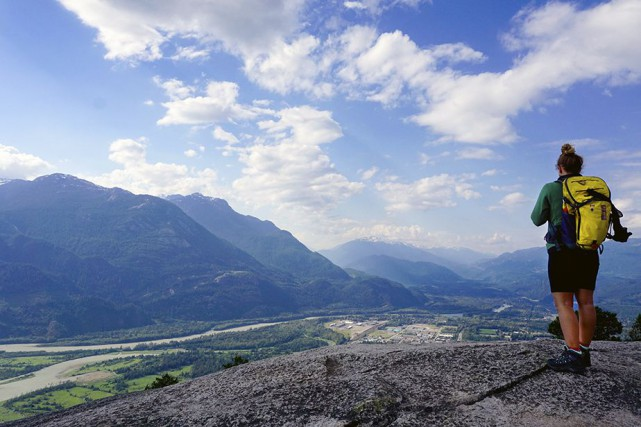 Squamish,capitale canadienne des sports de plein air... (photo Audrey Ruel-Manseau, la presse)