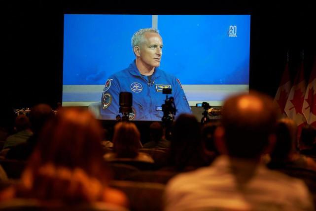 Trou dans la Station spatiale internationale: un «wake-up call», dit David Saint-Jacques