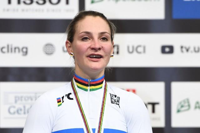 Kristina Vogel, 11 fois championne du monde, a... (Photo EMMANUEL DUNAND, AFP)