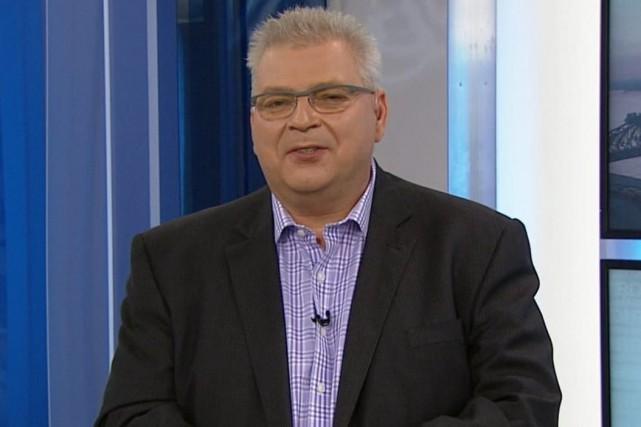Le nouveau candidat caquiste dans Saint-Jean, Louis Lemieux... (Photo Radio-Canada)