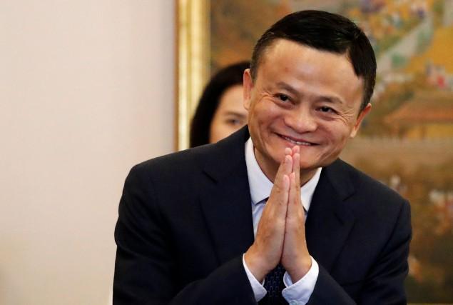 Jack Ma, ex-président du chinois Alibaba, comprend vite... (Photo Jorge SIlva, Archives AFP)