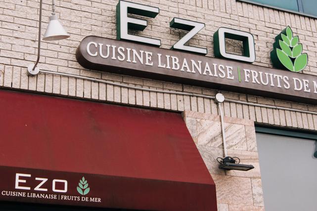 Le restaurant Ezo, dans Ahuntsic-Cartierville... (Photo tirée du site web d'Ezo)