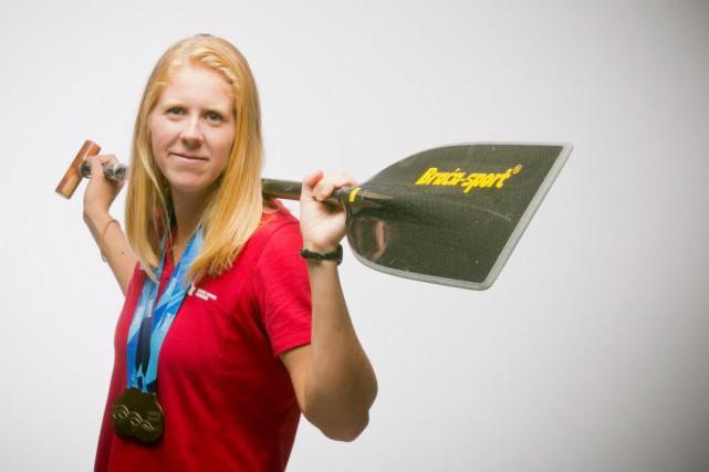 L'athlète LaurenceVincent-Lapointe... (PhotoFRANÇOISROY, LA PRESSE)