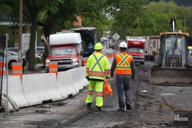 La direction des infrastructures de Montréal a mené... (PHOTO MARTIN CHAMBERLAND, LA PRESSE)