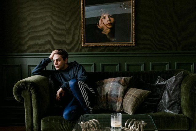 Xavier Dolan dans son appartement montréalais, en février... (PhotoRenaud Philippe, archives The New York Times)