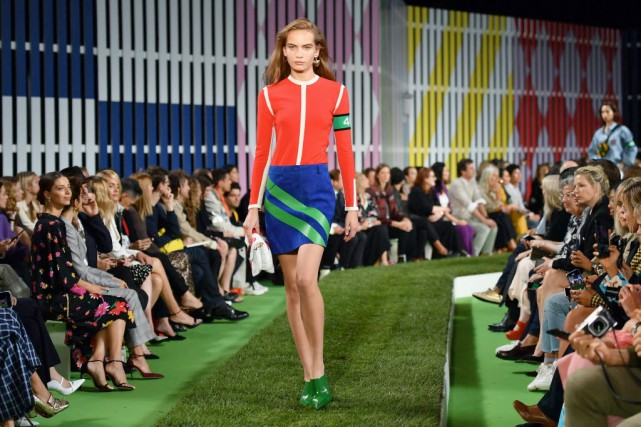 La nouvelle collection d'Escada, «California Breeze», met en... (Photo AFP)