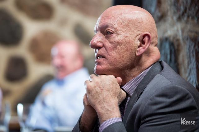 L'homme d'affaires Peter Sergakis.... (Photo Simon Groulx, Archives La Presse)