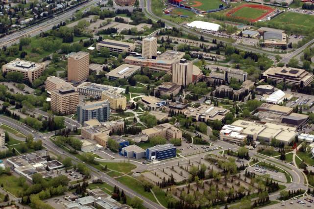 Le campus de l'université de Calgary.... (ARCHIVES PC)