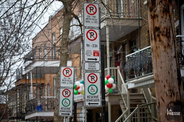 La suppression des obligations liées au stationnement pourrait... (Photo Patrick Sanfaçon, La Presse)