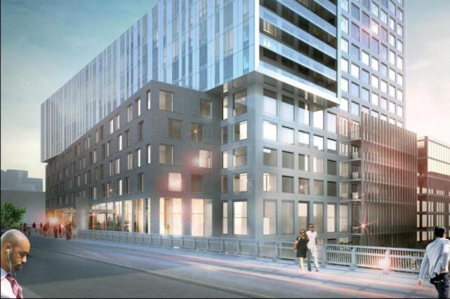 Lorsque le projet sera terminé, 332 nouveaux logements... (Illustration fournie par Groupe Jesta)
