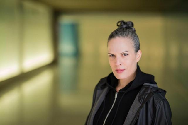 L'auteureKaroline Georges est en liceaux Prix littéraires du... (Photo Edouard Plante-Fréchette, Archives La Presse)