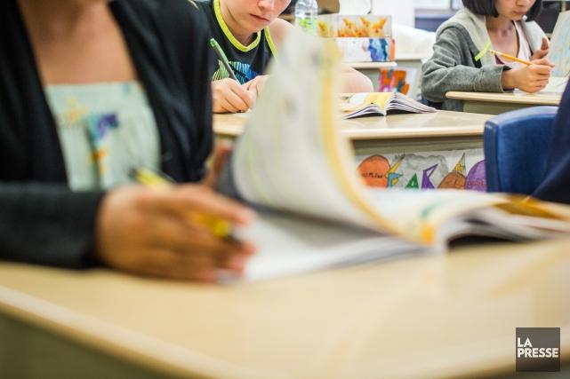 Les craintes entourant l'implantation du nouveau cours d'éducation à la... (PHoto Olivier Pontbriand, archives La Presse)