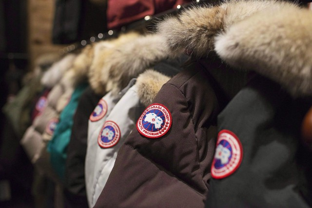 Plus tôt cette année, Canada Goose a annoncé... (photo Aaron Vincent Elkaim, archives PC)