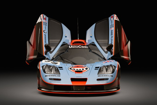 McLaren F1 GTR Longtail 1997.... (Photo McLaren Special Operations)