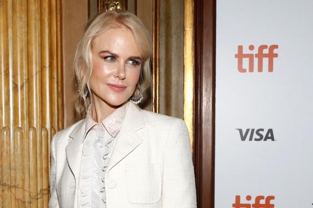 Nicole Kidman lors de la première de Destroyer,... (PHOTO REUTERS)