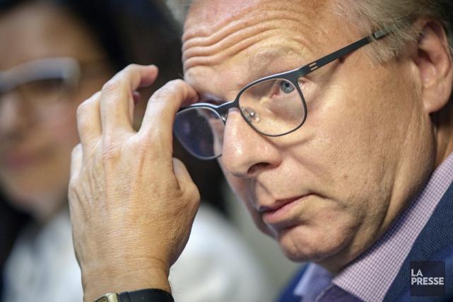 «Il faut empêcher la CAQ et les libéraux... (PHOTO OLIVIER JEAN, LA PRESSE)