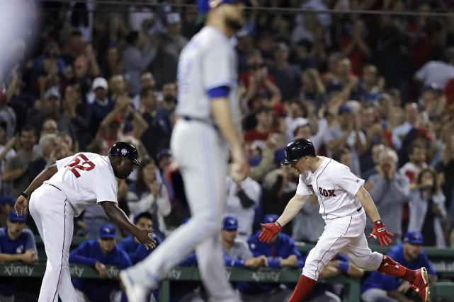 Les Red Sox de Boston sont devenus le premier club assuré de prolonger sa... (PHOTO AP)