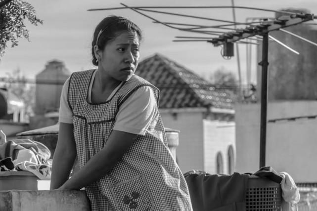 Scène du film Roma,d'Alfonso Cuarón... (Photo fournie par le TIFF)
