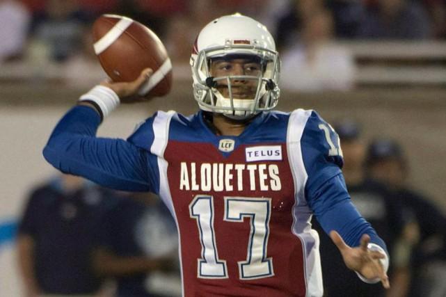 Les Alouettes ont-ils enfin trouvé la perle rare... (PhotoPeter Mccabe, La Presse canadienne)