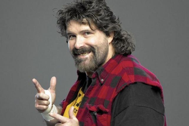 Mick Foley... (Photo John Giamundo, fournie par la WWE)