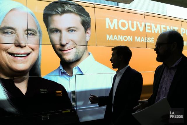 Pendant la réalisation du projet-pilote, un gouvernement solidaire... (PHOTO MARTIN TREMBLAY, LA PRESSE)