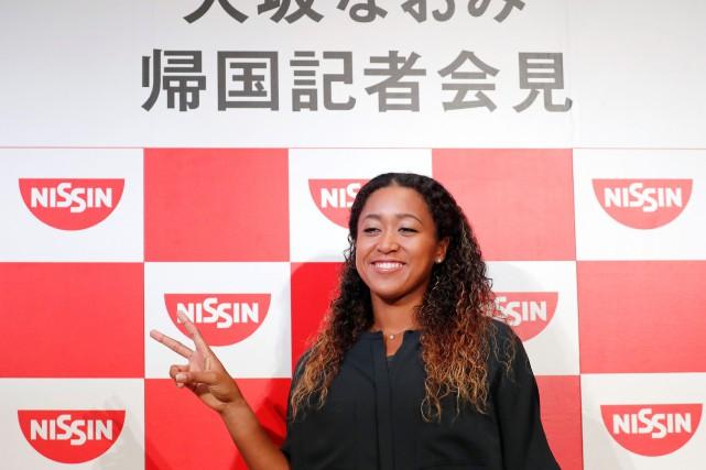 La Japonaise Naomi Osaka a remporté les Internaionaux... (PHOTO TORU HANAI, REUTERS)