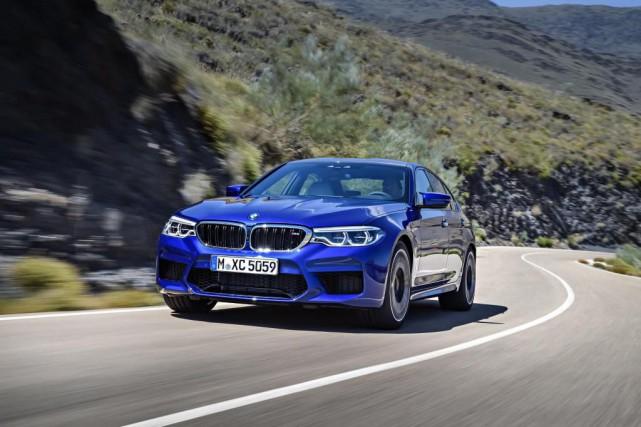 La M5 cultive toujours la sobriété de ses... (Photo fournie par BMW)