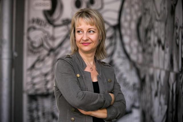 Nathalie Mallette incarne la mythiqueJocaste dans la pièce... (Photo François Roy, La Presse)