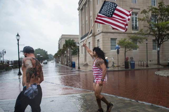 La ville de Wilmington, en Caroline du Nord,... (PHOTO AFP)
