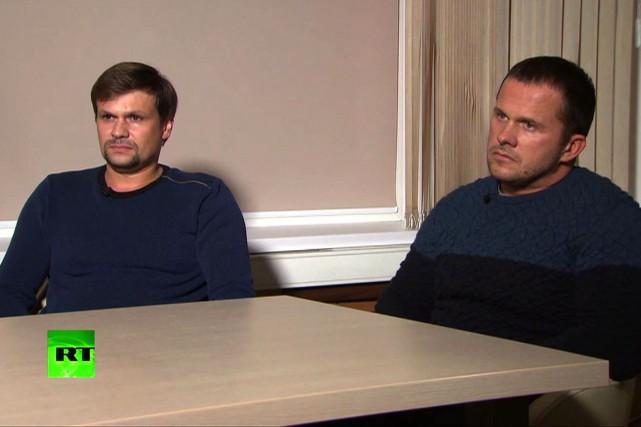 Sur la chaîne de télévision publique russe RT,... (Photo Agence France-Presse)