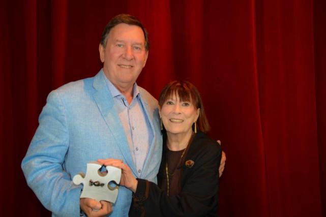 Les comédiens Gilles Renaud et Monique Miller... (Photo Yves Renaud, fournie par le TNM)