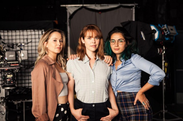 Juliette Gosselin, Noémie O'Farrell et Mounia Zahzam seront... (Photo fournie par GO Films)