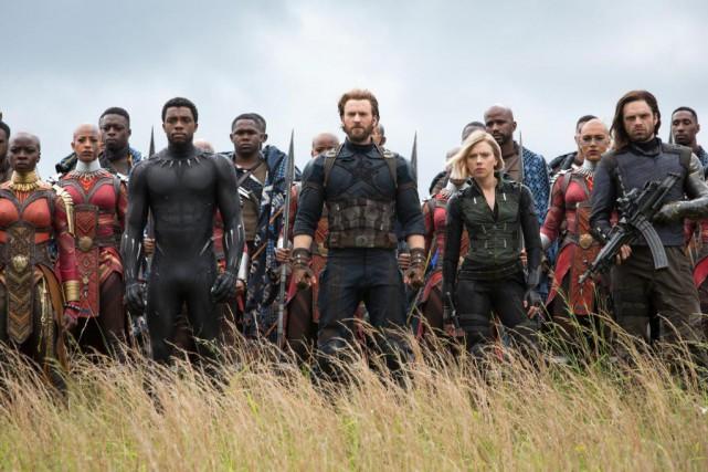 Une scène du film Avengers:Infinity War, qui a... (Photo Chuck Zlotnick, fournie par Marvel Studios)