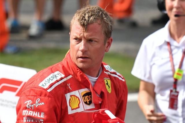 Si le vétéran finlandais Kimi Räikkönen voulait montrer à son écurie qu'elle a...