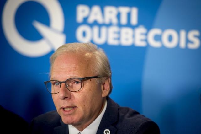 Le chef du Parti québécois, Jean-François Lisée... (PHOTO Peter McCabe, ARCHIVES LA PRESSE CANADIENNE)