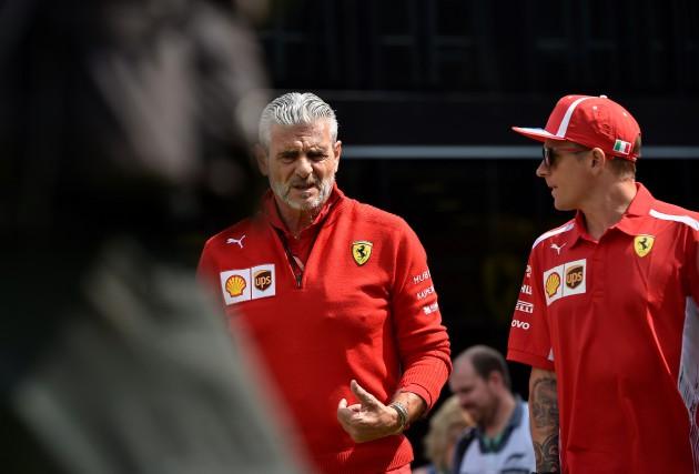 Pourquoi le patron de la Scuderia,Maurizio Arrivabene, a-t-il... (Photo AFP)