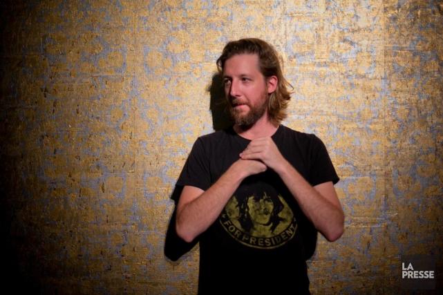 Emmanuel Schwartz... (Photo David Boily, La Presse)
