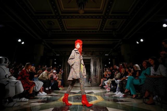 Pas forcément connue du grand public, la styliste... (photo Henry Nicholls, REUTERS)