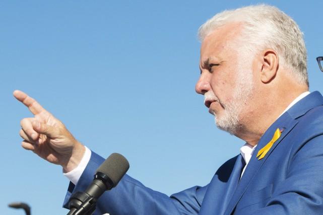Le chef du Parti libéral du Québec, Philippe... (PHOTO Ryan Remiorz, ARCHIVES LA PRESSE CANADIENNE)