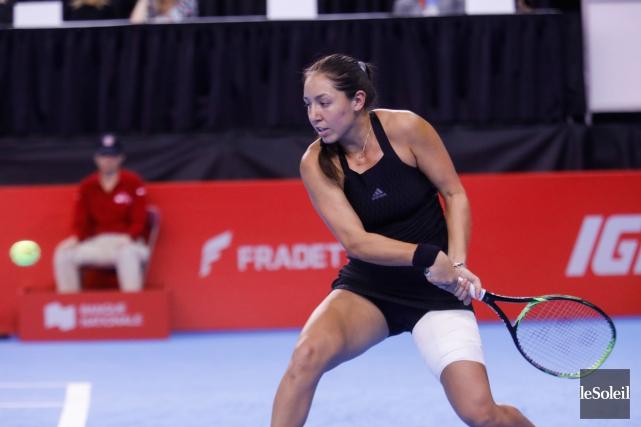 Pegula, 227e à l'échelle de la WTA, a... (Photo Caroline Grégoire, Le Soleil)