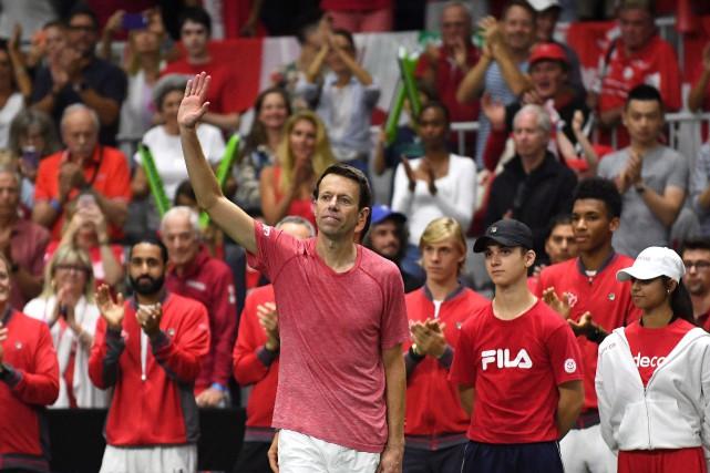 Âgé de 46ans, Nestor avait annoncé qu'il accrocherait... (Photo Jon Blacker, La Presse canadienne)