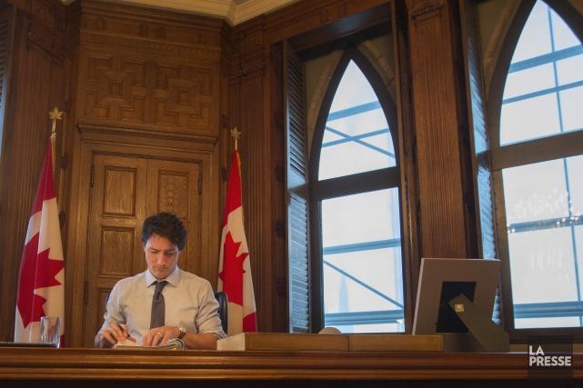 Le premier ministre du Canada, Justin Trudeau... (Photo Ivanoh Demers, La Presse)